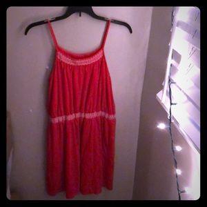 gap kids xxl red summer dress
